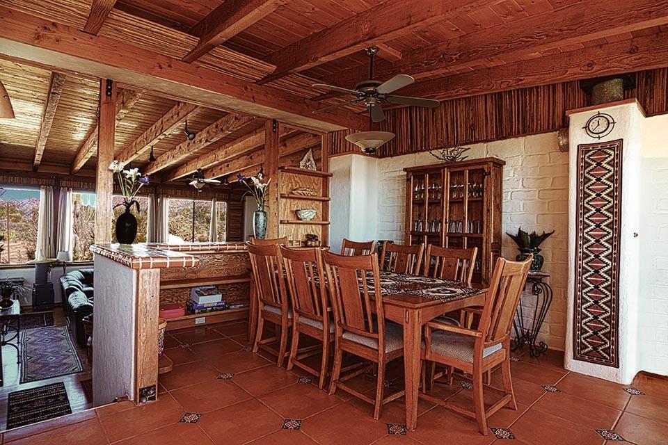 Dining room-seats 8